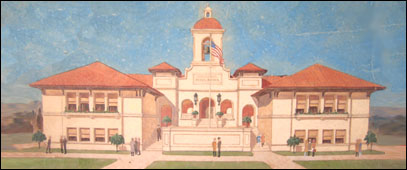 Mission San Jose School Alfred Griffin, Architect - Francis Griffin, Contractor