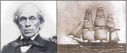 Timothy Rix and his ship, The Edward Everett