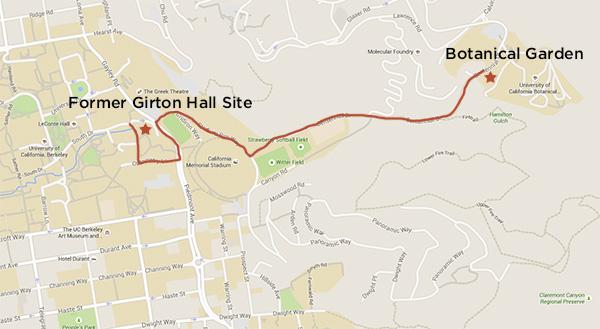 Girton-map